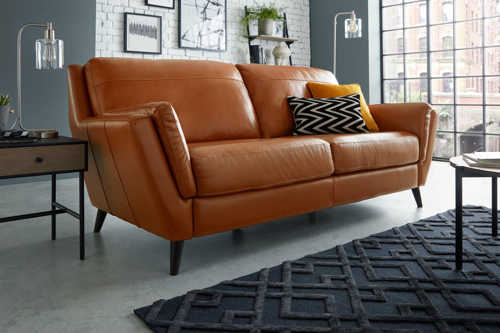 100 Leather And Fabric Sofas Uk Italian