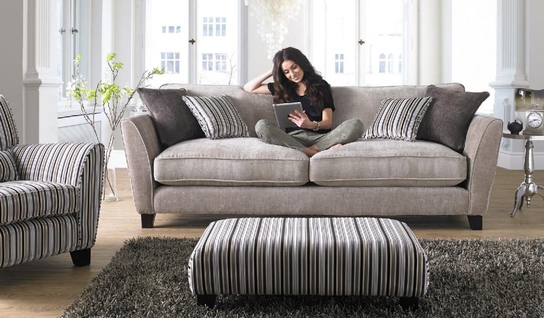 Canterbury Fabric Sofa Range Sofology
